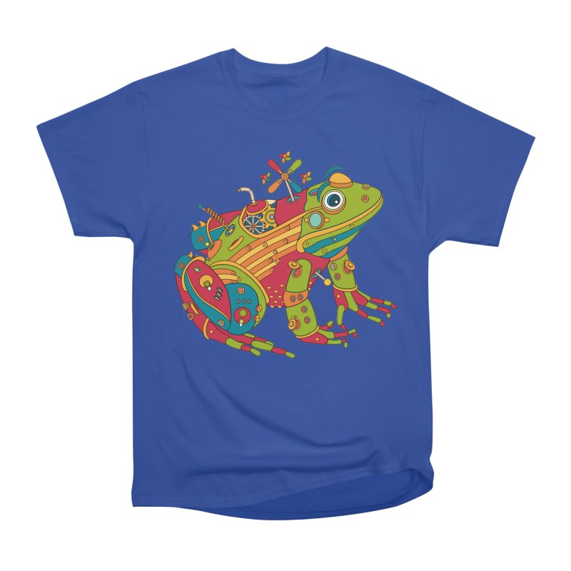 Frog, cool art from the AlphaPod Collection Men's Heavyweight T-Shirt by AlphaPod
