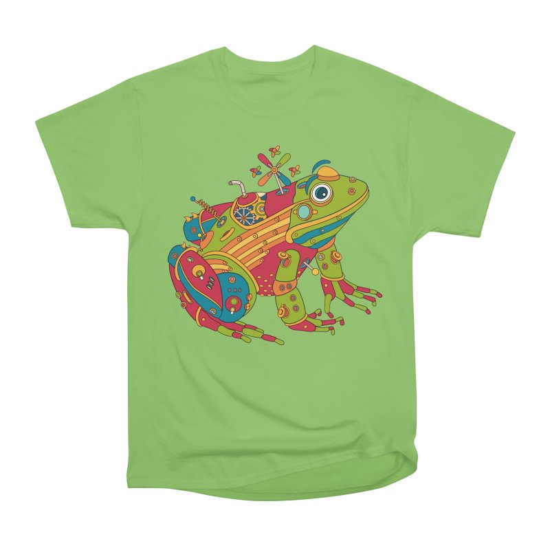 Frog, cool art from the AlphaPod Collection Women's Heavyweight Unisex T-Shirt by AlphaPod