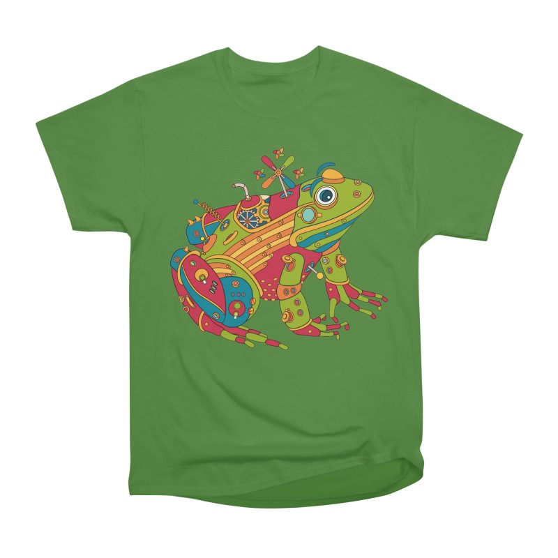 Frog, cool art from the AlphaPod Collection Men's Classic T-Shirt by AlphaPod