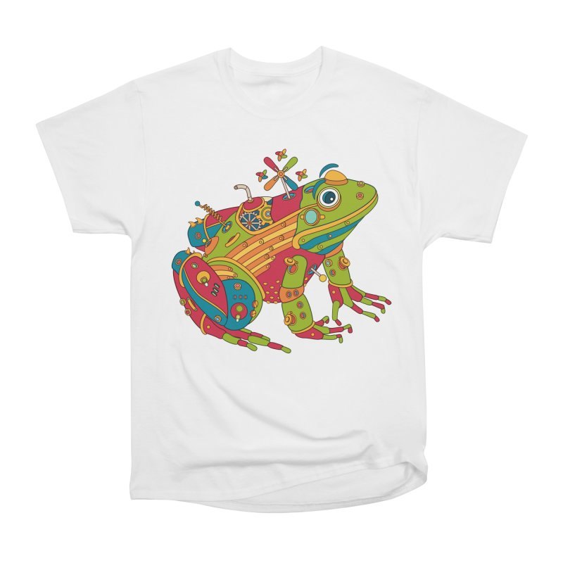Frog, cool wall art for kids and adults alike Women's Classic Unisex T-Shirt by AlphaPod