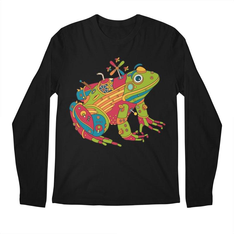 Frog, cool art from the AlphaPod Collection Men's Regular Longsleeve T-Shirt by AlphaPod