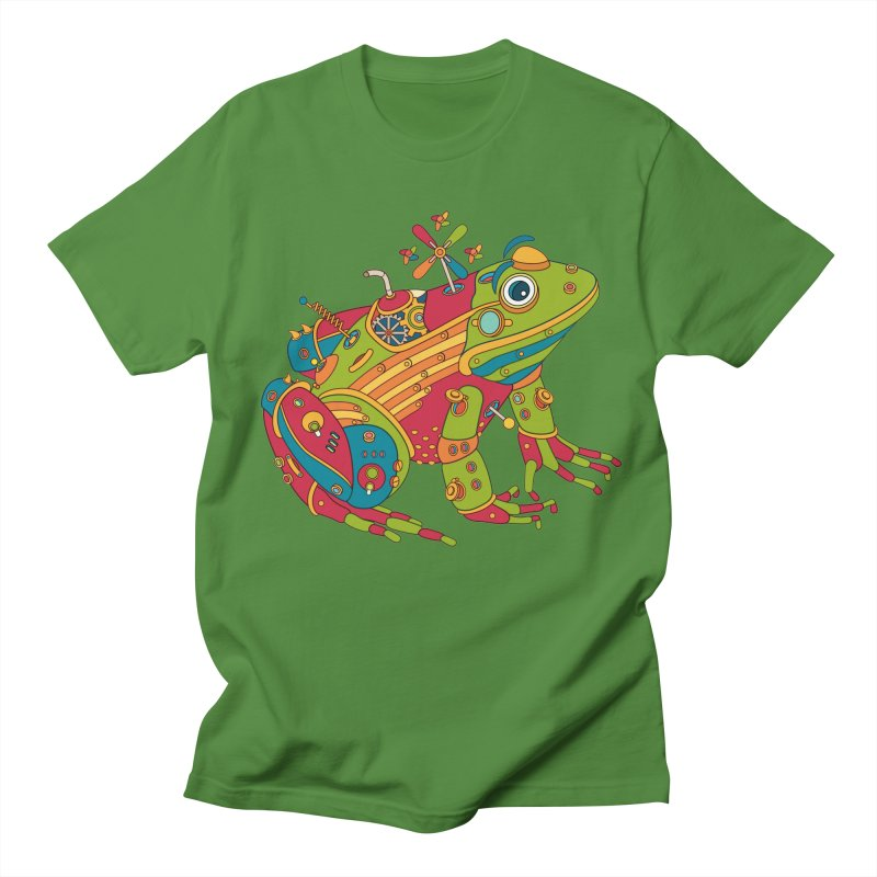 Frog, cool art from the AlphaPod Collection Women's Unisex T-Shirt by AlphaPod