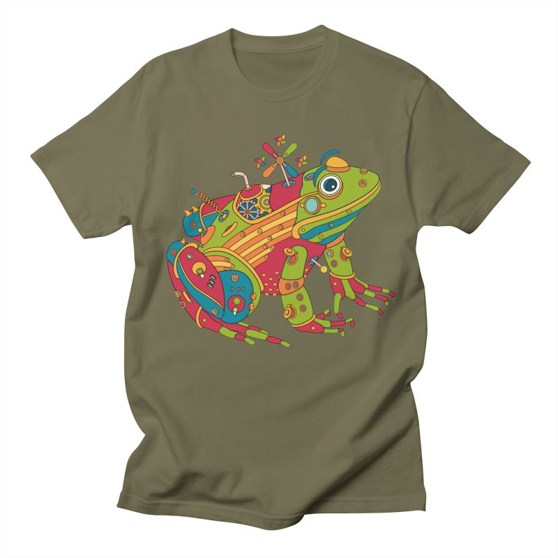 Frog, cool art from the AlphaPod Collection Men's Regular T-Shirt by AlphaPod