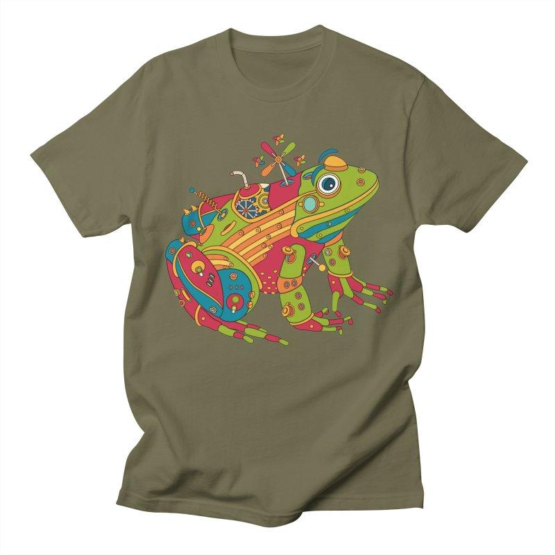 Frog, cool art from the AlphaPod Collection Women's Regular Unisex T-Shirt by AlphaPod