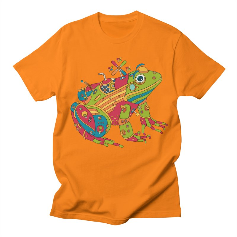 Frog, cool art from the AlphaPod Collection Women's Regular Unisex T-Shirt by AlphaPod