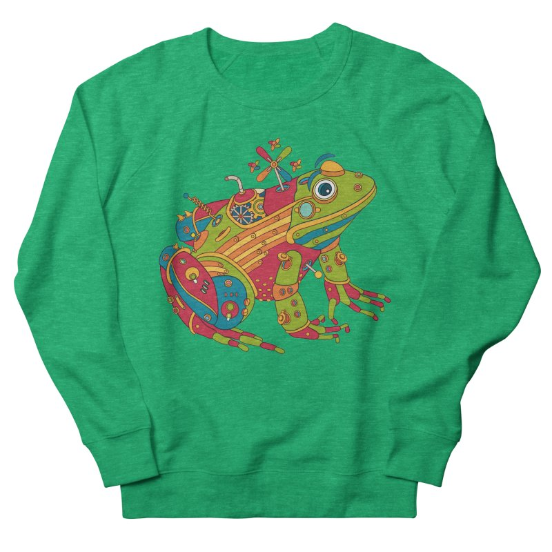Frog, cool art from the AlphaPod Collection Women's French Terry Sweatshirt by AlphaPod