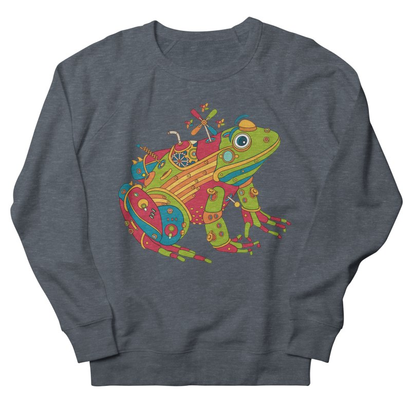 Frog, cool art from the AlphaPod Collection Women's Sweatshirt by AlphaPod