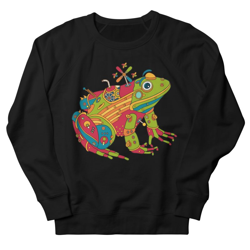 Frog, cool art from the AlphaPod Collection Men's French Terry Sweatshirt by AlphaPod