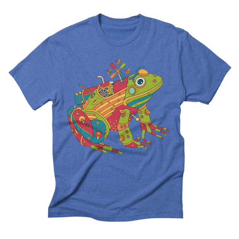 Frog, cool wall art for kids and adults alike Men's Triblend T-shirt by AlphaPod
