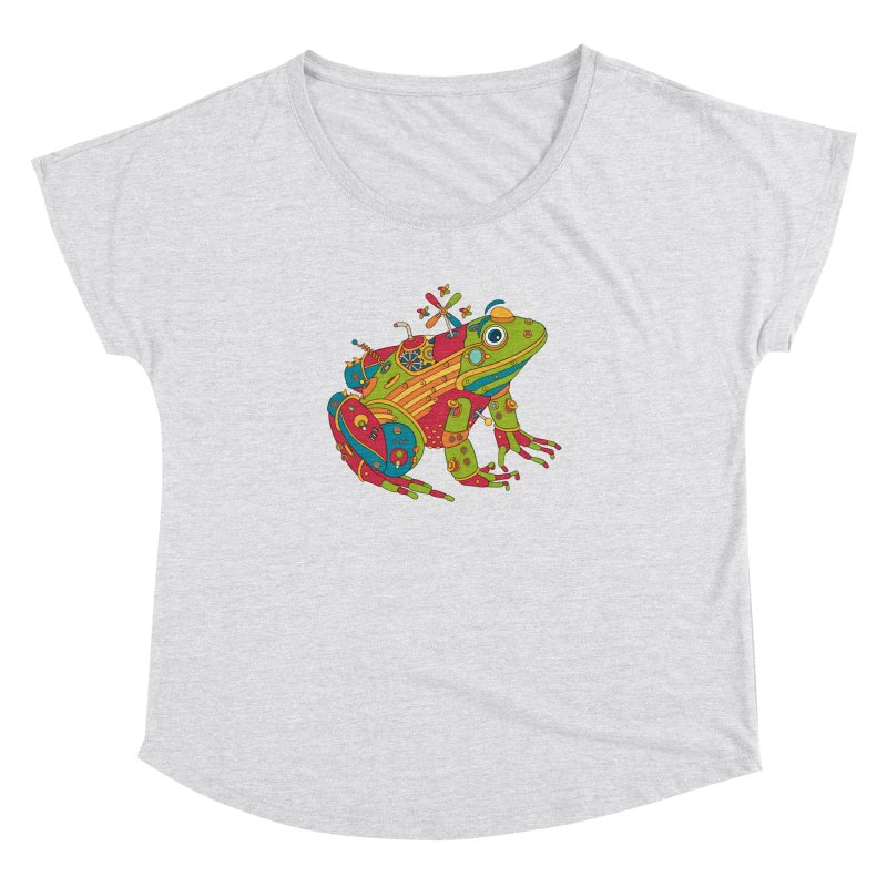 Frog, cool wall art for kids and adults alike Women's Dolman by AlphaPod