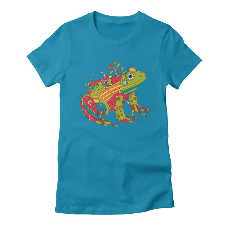 Frog, cool art from the AlphaPod Collection Women's T-Shirt by AlphaPod