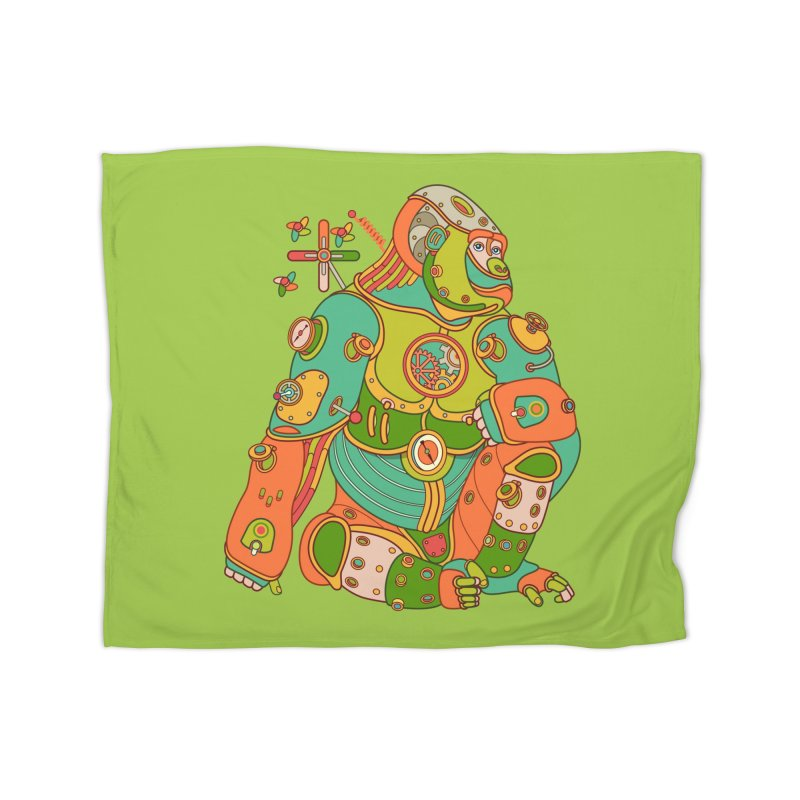 Gorilla, cool art from the AlphaPod Collection Home Blanket by AlphaPod