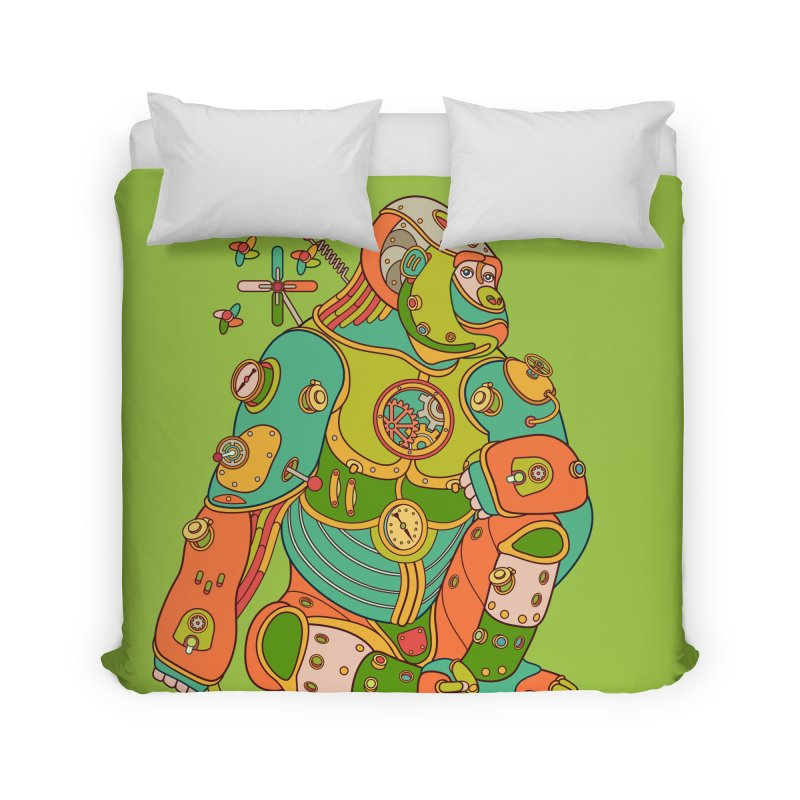 Gorilla, cool art from the AlphaPod Collection Home Duvet by AlphaPod