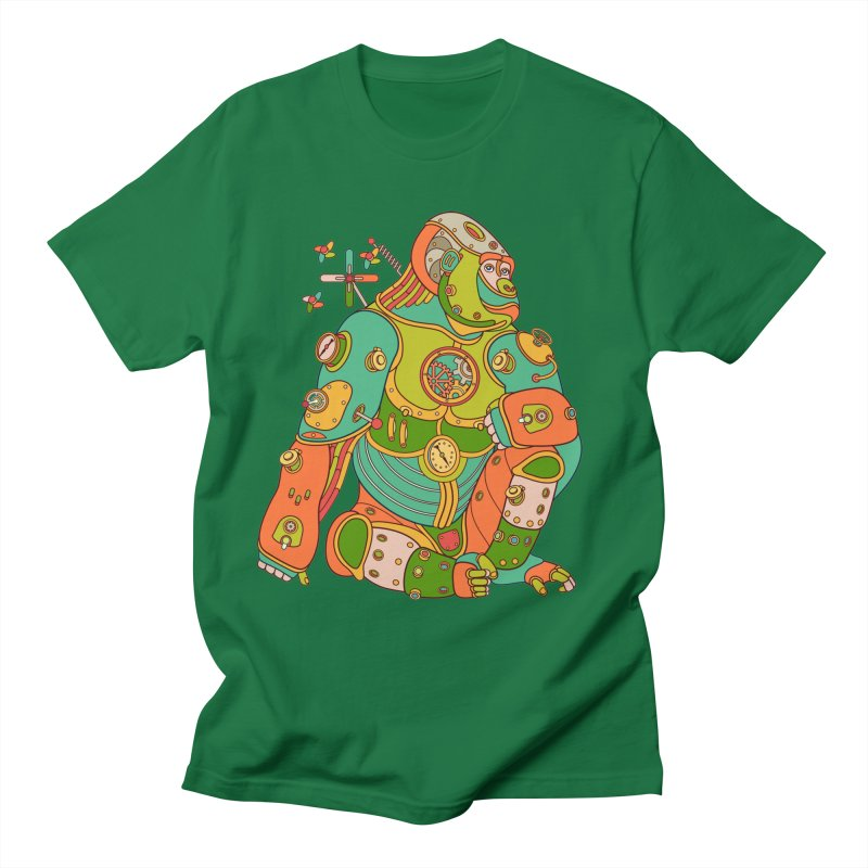 Gorilla, cool wall art for kids and adults alike Women's Unisex T-Shirt by AlphaPod