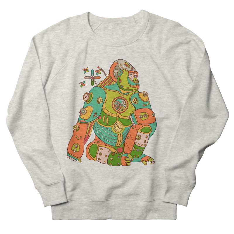 Gorilla, cool wall art for kids and adults alike Women's Sweatshirt by AlphaPod