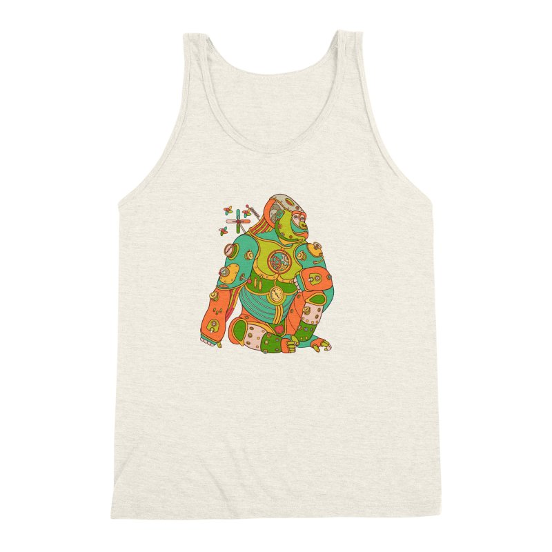 Gorilla, cool wall art for kids and adults alike Men's Triblend Tank by AlphaPod