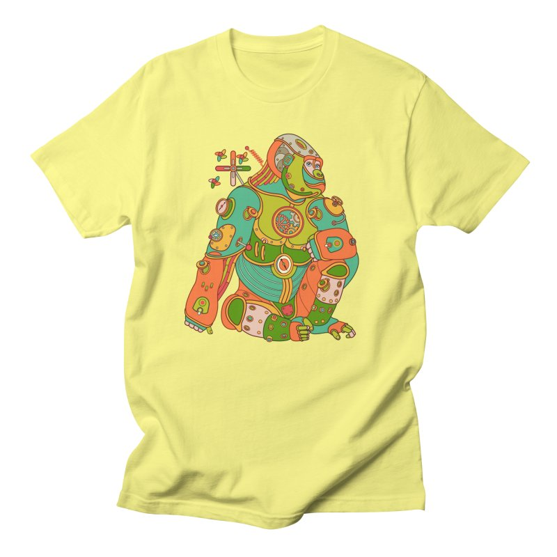 Gorilla, cool art from the AlphaPod Collection Men's T-Shirt by AlphaPod