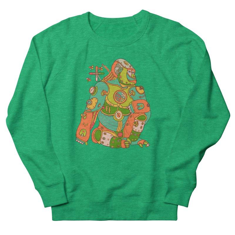 Gorilla, cool art from the AlphaPod Collection Women's Sweatshirt by AlphaPod