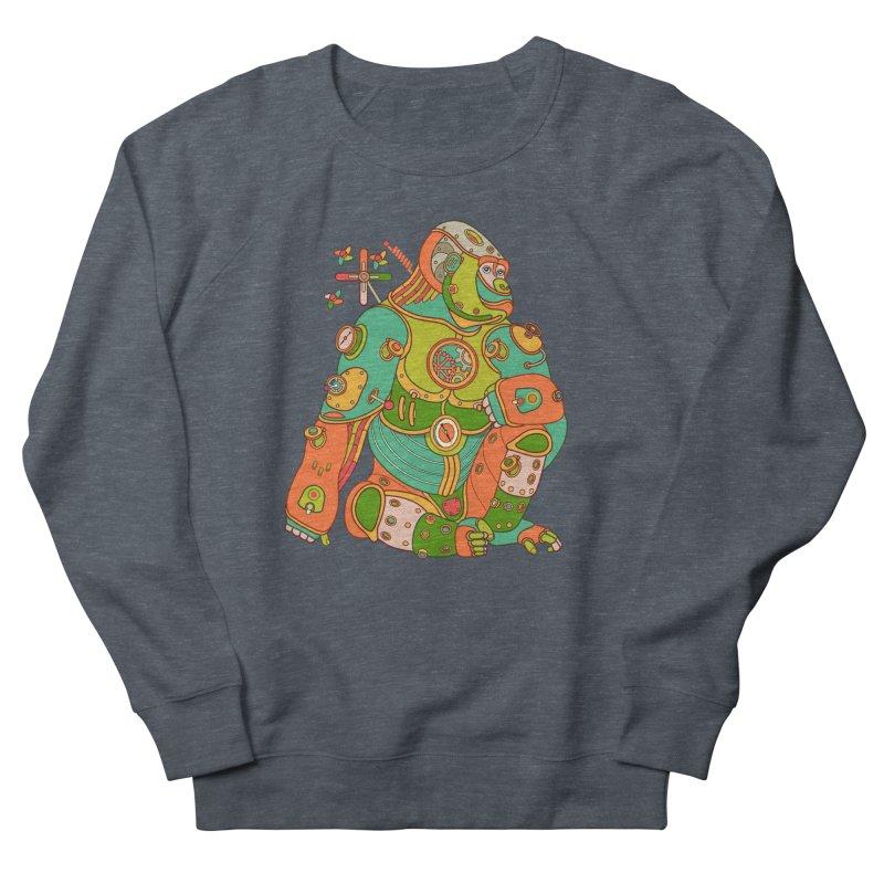 Gorilla, cool art from the AlphaPod Collection Men's Sweatshirt by AlphaPod