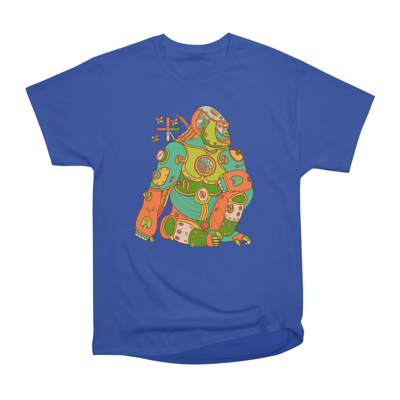 Gorilla, cool art from the AlphaPod Collection Women's Heavyweight Unisex T-Shirt by AlphaPod