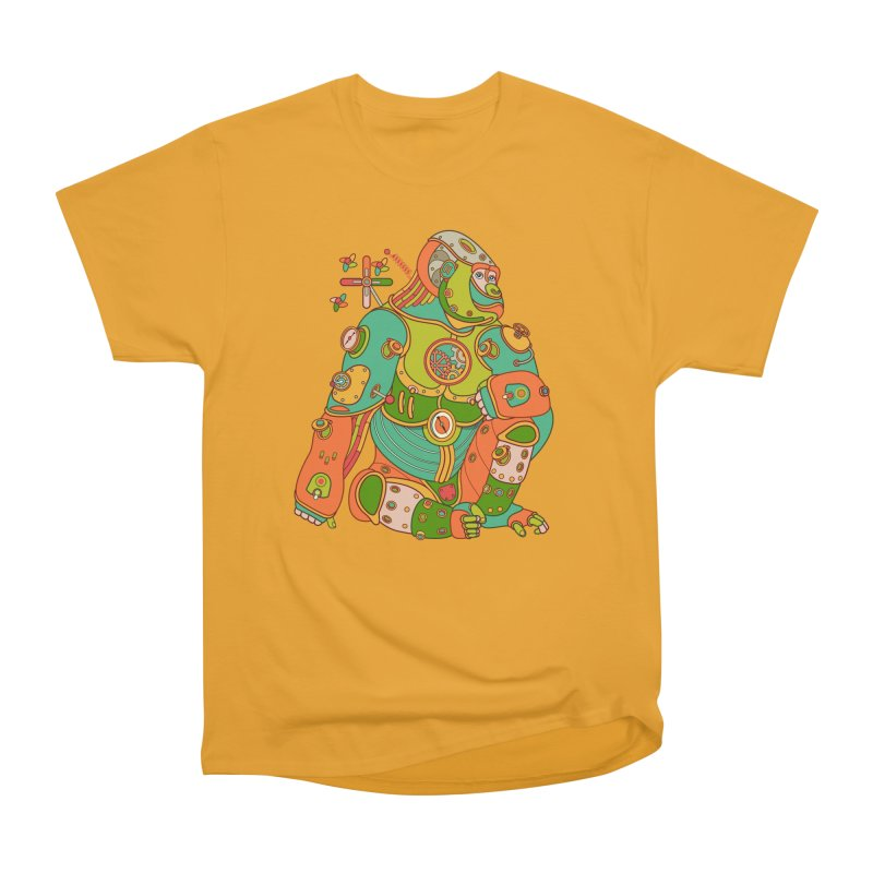 Gorilla, cool art from the AlphaPod Collection Men's Classic T-Shirt by AlphaPod