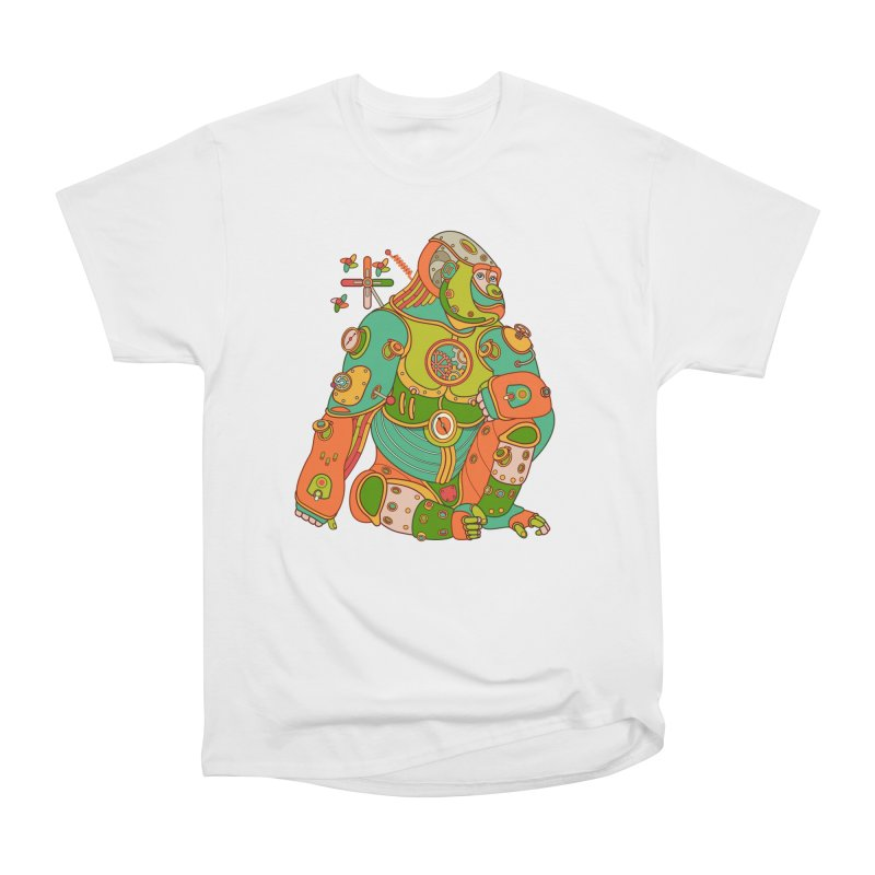 Gorilla, cool art from the AlphaPod Collection Women's Classic Unisex T-Shirt by AlphaPod