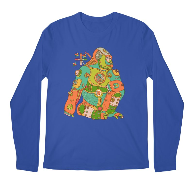 Gorilla, cool art from the AlphaPod Collection Men's Regular Longsleeve T-Shirt by AlphaPod