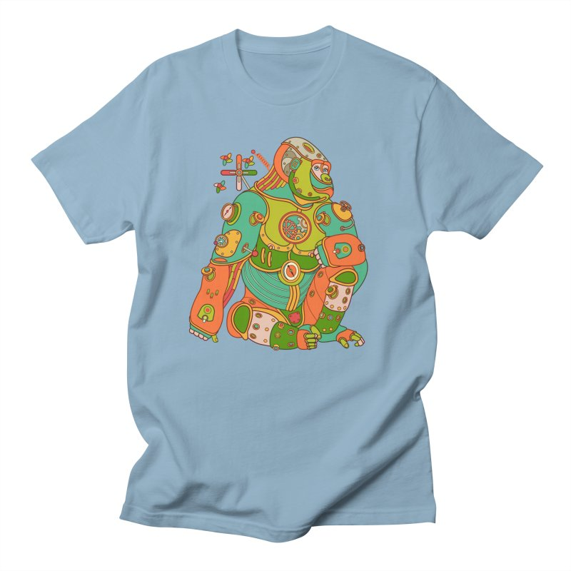 Gorilla, cool art from the AlphaPod Collection Men's Regular T-Shirt by AlphaPod