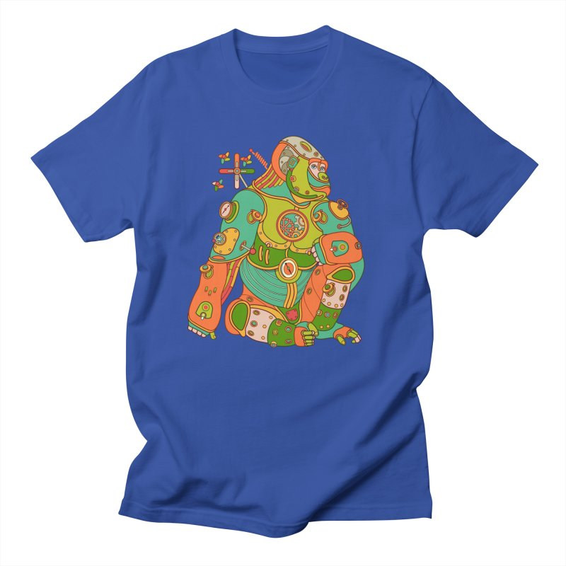Gorilla, cool art from the AlphaPod Collection Women's Regular Unisex T-Shirt by AlphaPod