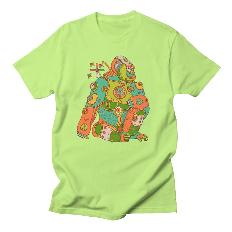 Gorilla, cool art from the AlphaPod Collection Men's Regular T-Shirt by AlphaPod
