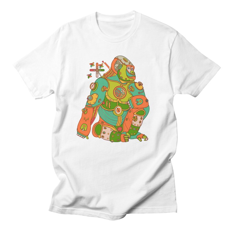 Gorilla, cool art from the AlphaPod Collection Women's T-Shirt by AlphaPod
