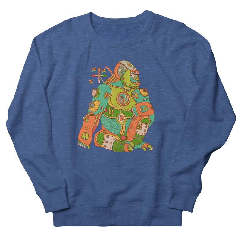 Gorilla, cool art from the AlphaPod Collection Women's French Terry Sweatshirt by AlphaPod