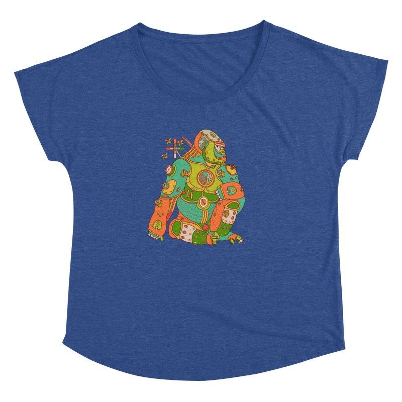 Gorilla, cool art from the AlphaPod Collection Women's Dolman by AlphaPod