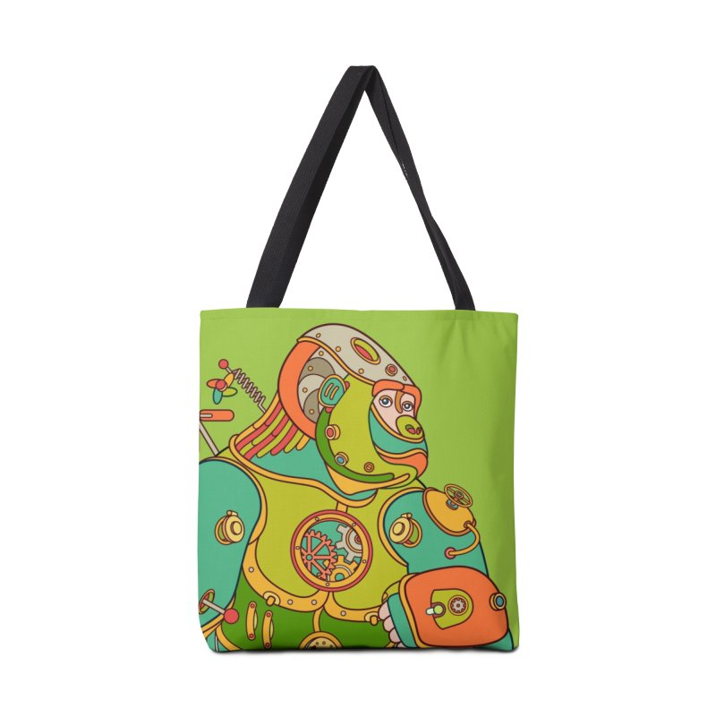 Gorilla, cool wall art for kids and adults alike Accessories Bag by AlphaPod