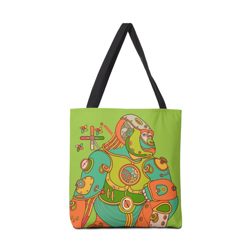 Gorilla, cool art from the AlphaPod Collection Accessories Tote Bag Bag by AlphaPod