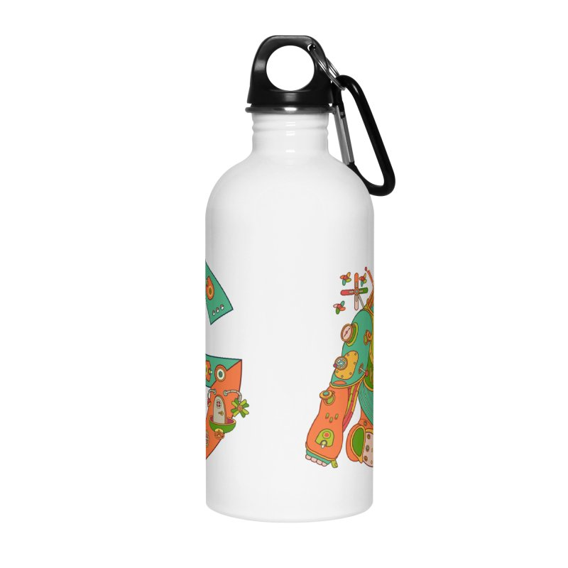 Gorilla, cool art from the AlphaPod Collection Accessories Water Bottle by AlphaPod