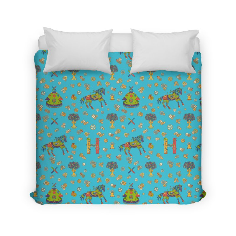 Horse, cool art from the AlphaPod Collection Home Duvet by AlphaPod
