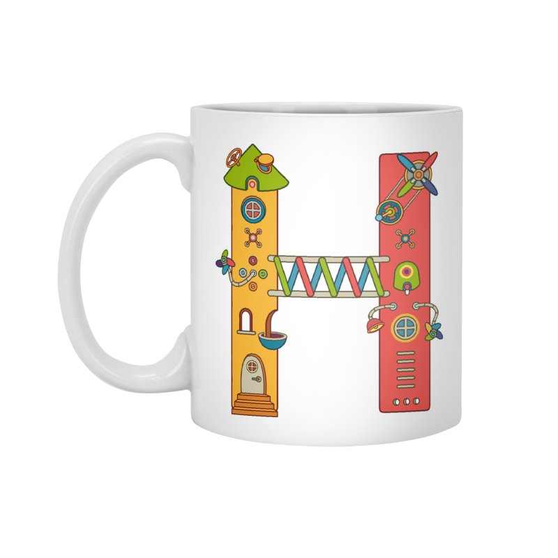 Horse, cool art from the AlphaPod Collection Accessories Mug by AlphaPod