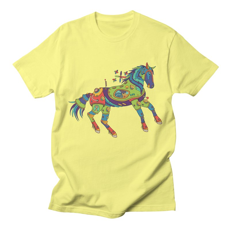 Horse, cool art from the AlphaPod Collection Men's T-Shirt by AlphaPod