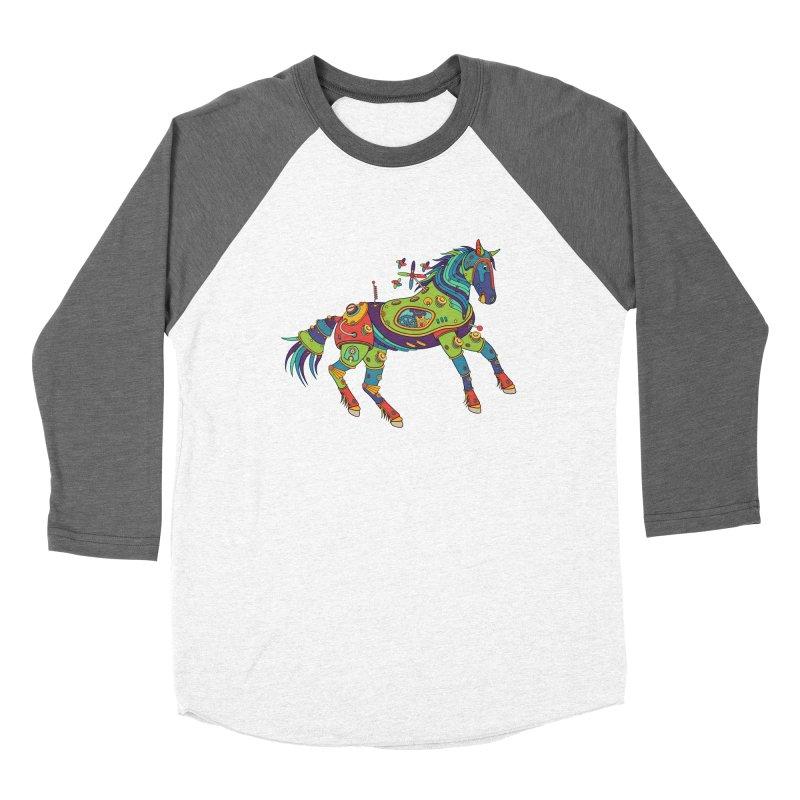 Horse, cool art from the AlphaPod Collection Women's Longsleeve T-Shirt by AlphaPod