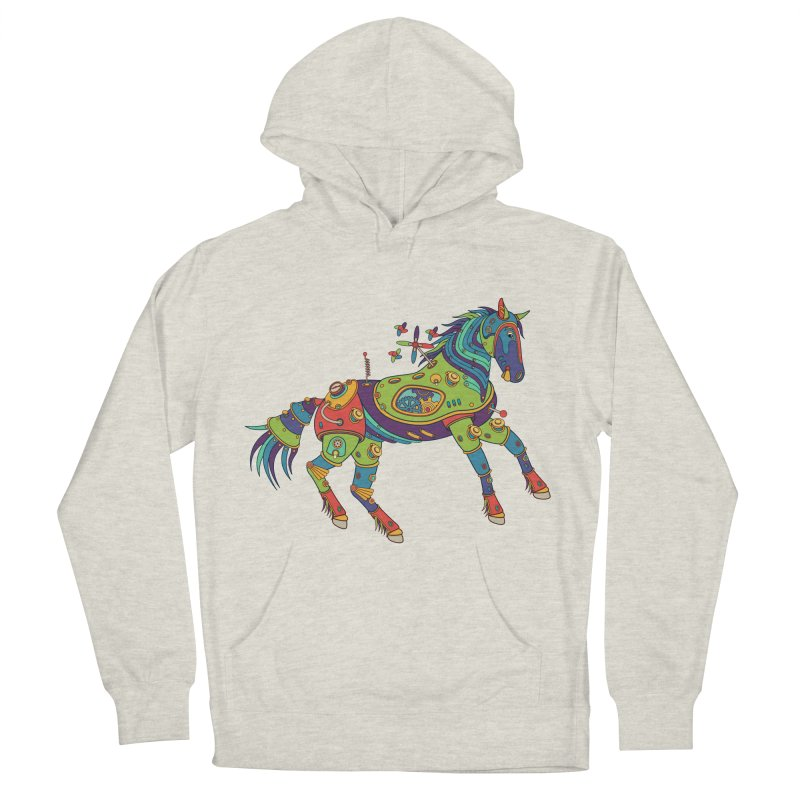 Horse, cool art from the AlphaPod Collection Women's Pullover Hoody by AlphaPod