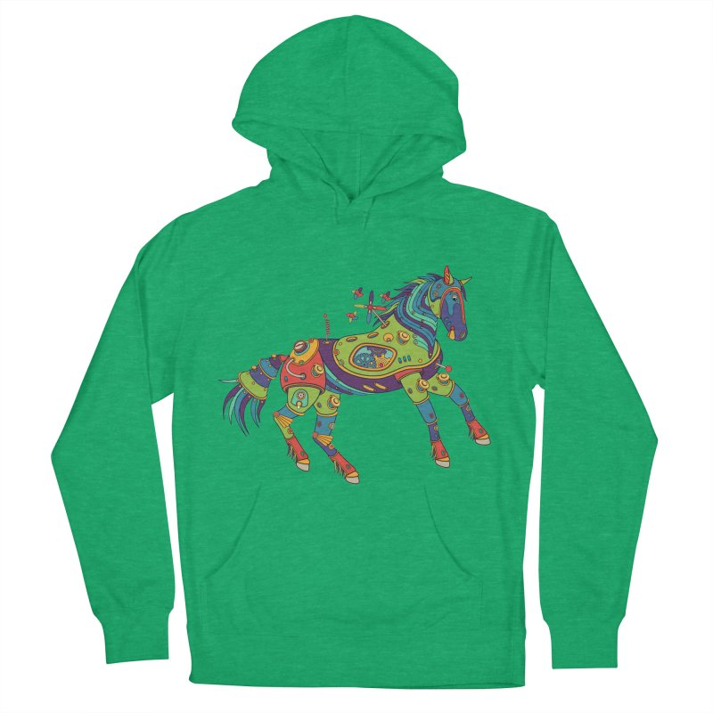 Horse, cool wall art for kids and adults alike Men's Pullover Hoody by AlphaPod