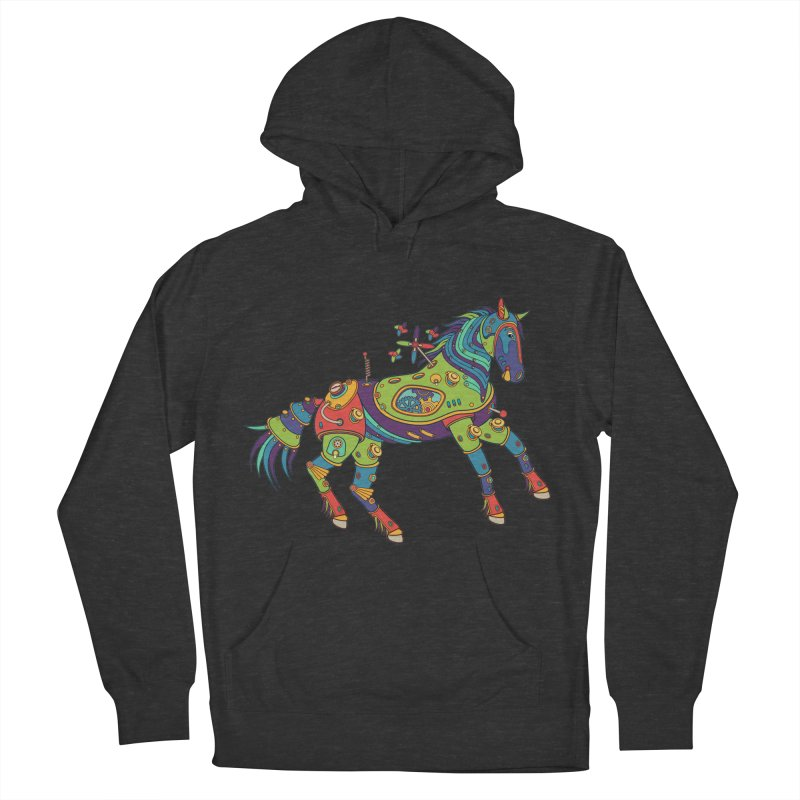 Horse, cool art from the AlphaPod Collection Men's Pullover Hoody by AlphaPod