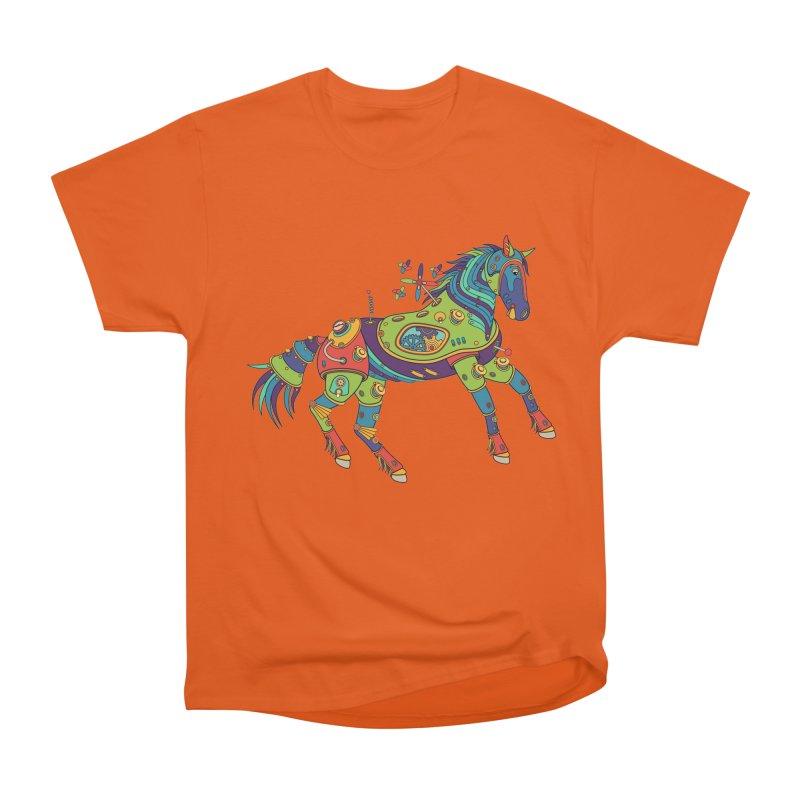 Horse, cool art from the AlphaPod Collection Men's Heavyweight T-Shirt by AlphaPod