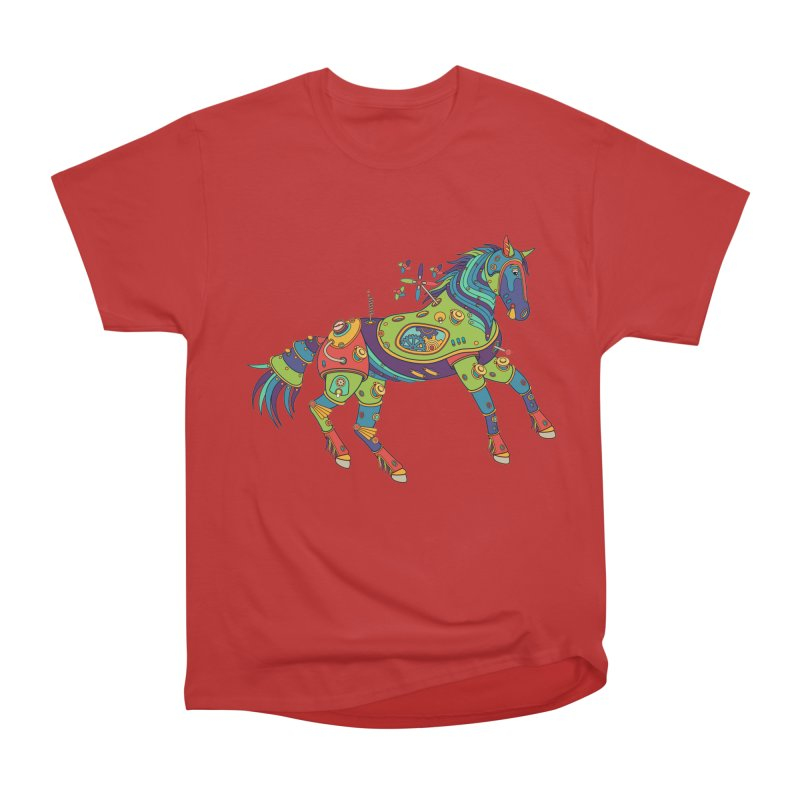 Horse, cool wall art for kids and adults alike Men's Classic T-Shirt by AlphaPod