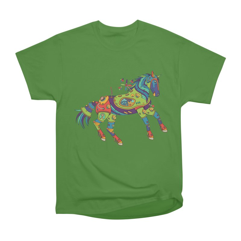 Horse, cool art from the AlphaPod Collection Women's Classic Unisex T-Shirt by AlphaPod