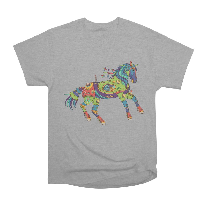 Horse, cool art from the AlphaPod Collection Men's Classic T-Shirt by AlphaPod