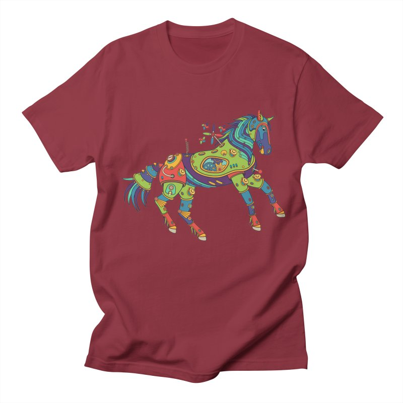 Horse, cool art from the AlphaPod Collection Women's Regular Unisex T-Shirt by AlphaPod