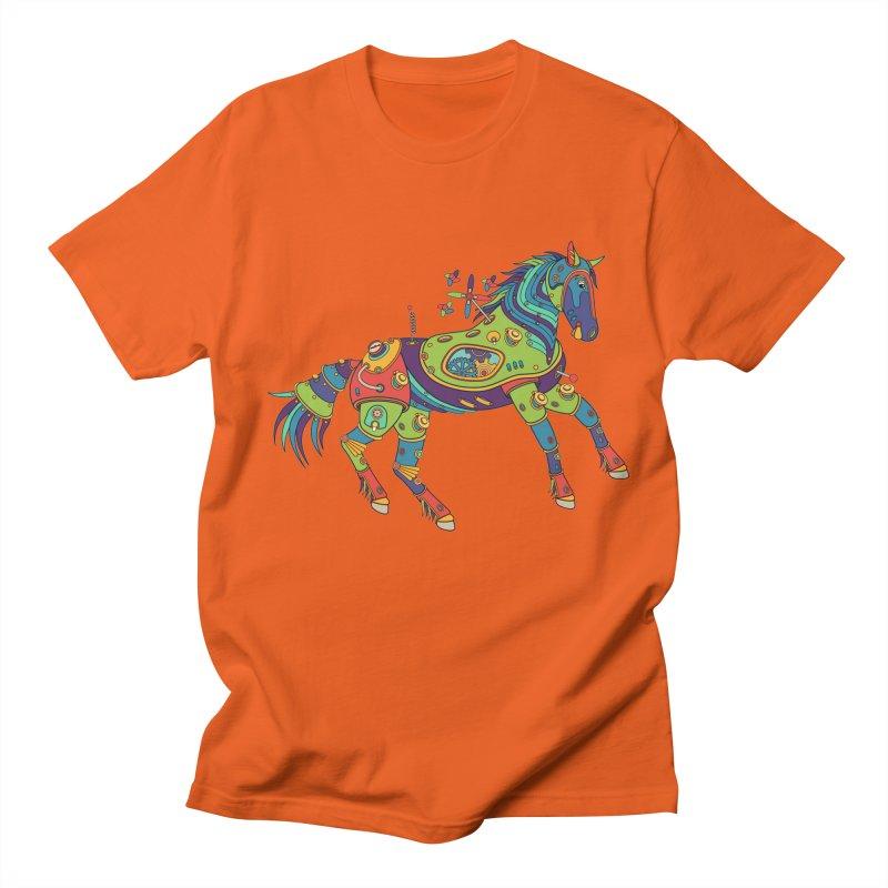 Horse, cool art from the AlphaPod Collection Women's Regular Unisex T-Shirt by AlphaPod