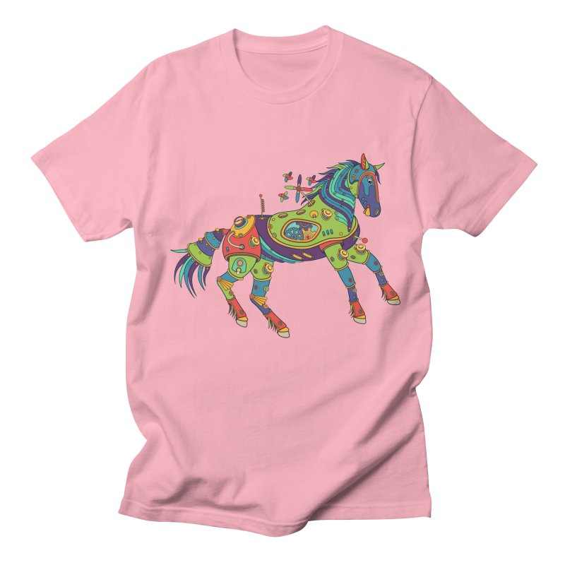 Horse, cool art from the AlphaPod Collection Women's Unisex T-Shirt by AlphaPod